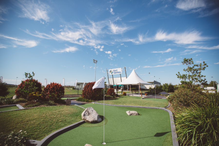 Mini Golf and Golf Central BNE complex